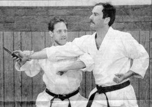 Image of Sensei Alan from Metro article 1991